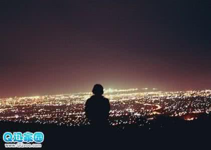 关于夜景的唯美说说 一个人看夜景的说说
