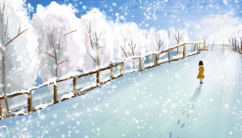 下雪心情发朋友圈短句下雪了微信上发说说